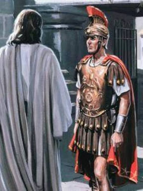 Luke 7a: Jesus Healed the Centurion's Servant.