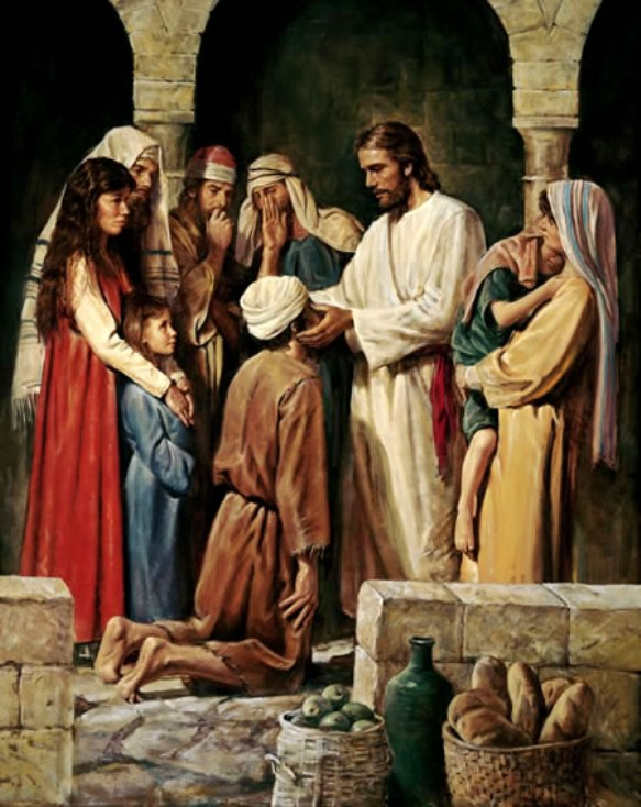 Mark 10b: Jesus Healed a Blind Man Named Bartimaeus, the Son of Timaeus.