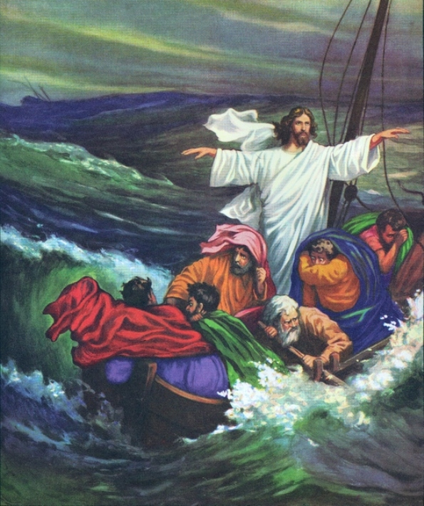 Mark 4e – Jesus Calmed the Storm