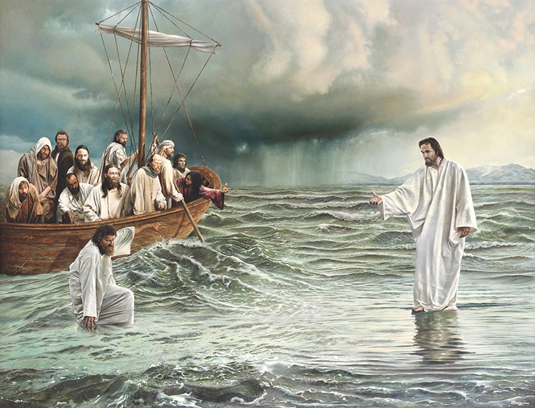 Matthew 14: The Death of John the Baptist, Jesus Mourned, Jesus Fed Five Thousand Men, and Jesus Walked on Water.