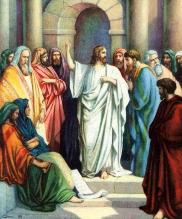 Matthew 23 – Jesus Rebuked the Scribes and the Pharisees