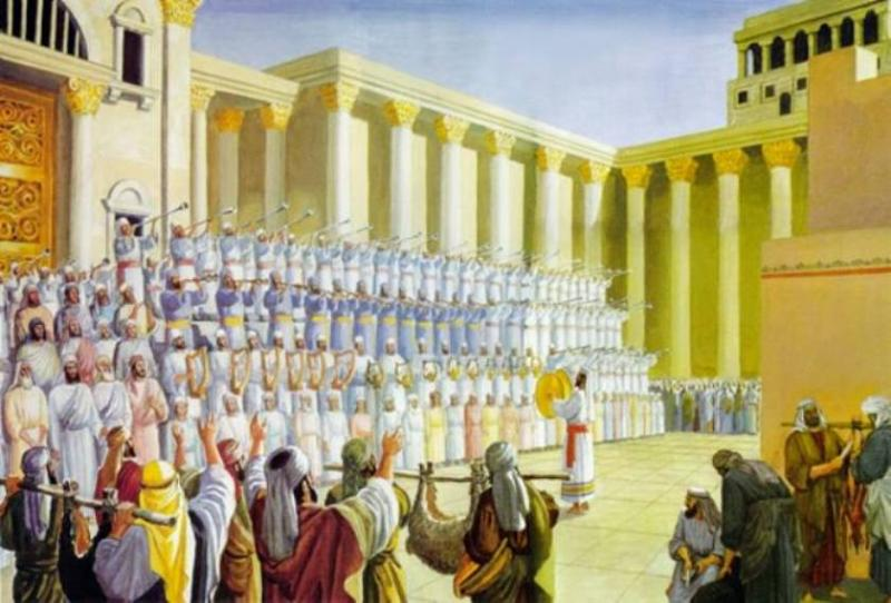 Nehemiah 12 – The Priests and the Levites Who Came with Zerubbabel to Jerusalem