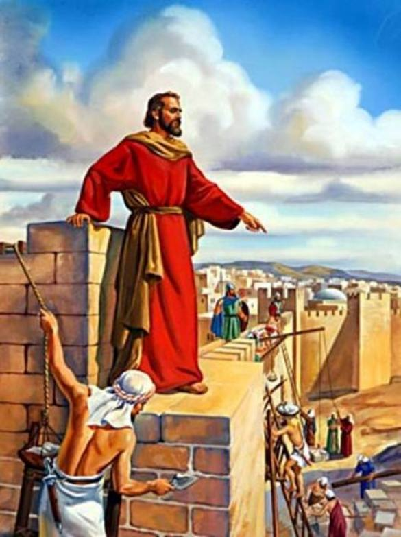 Nehemiah 3 – Nehemiah and the Builders of the Jerusalem Wall