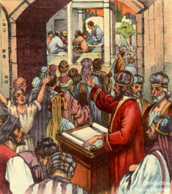 Nehemiah 8 – Ezra Read and Explained the Law to the People