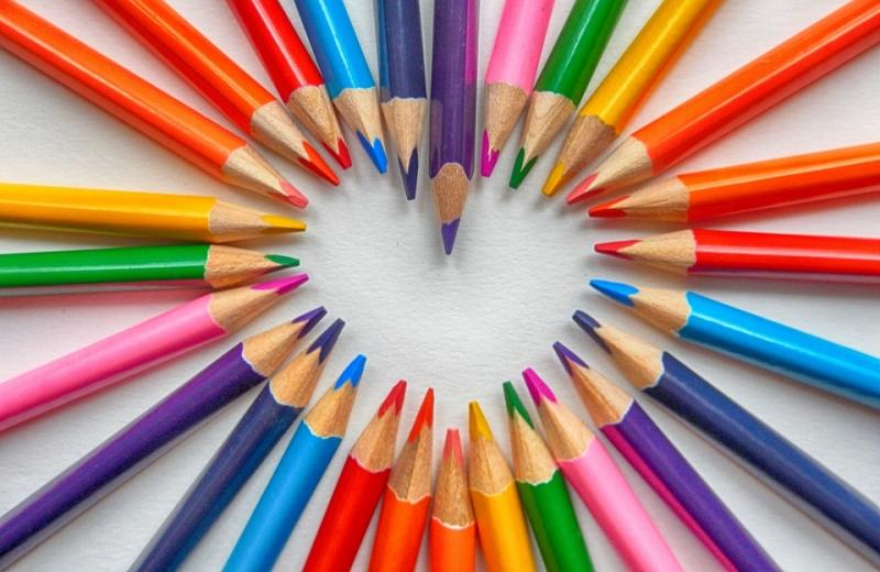 Pencils with Colors
