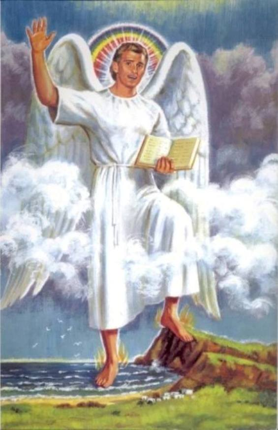 Revelation 10 - The Mighty Angel and the Little Book