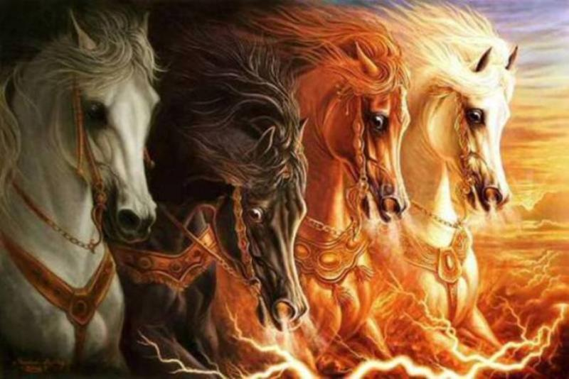 Zechariah 1: The Vision of the Horses, the Horns, the Craftsmen, and GOD's Zeal for Jerusalem.