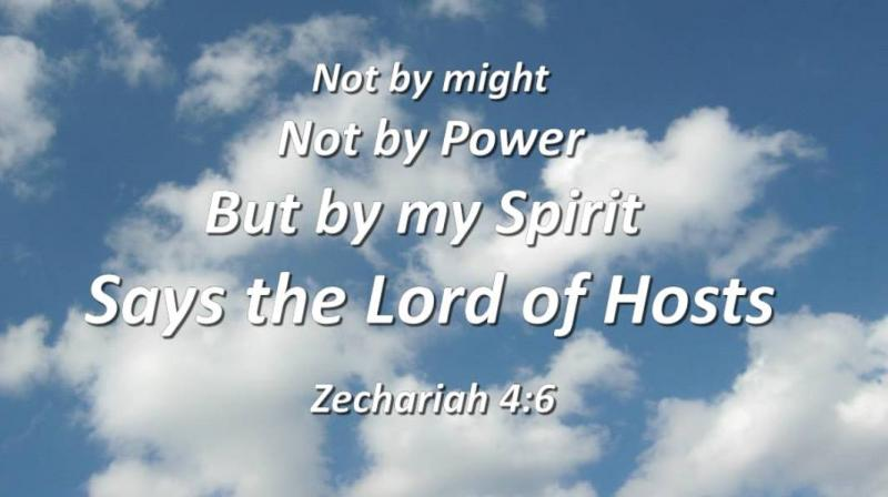 Zechariah 4 – The Vision of the Lampstand and the Olive Trees, and the Power of GOD through the Spirit