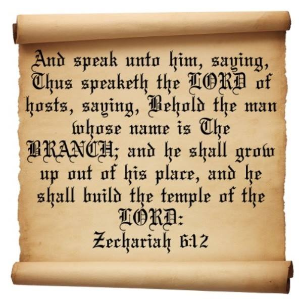 Zechariah 6 – The Vision of the Four Chariots of Horses, and The Prophecy About the Man Whose Name is the BRANCH