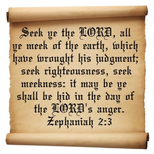 Zephaniah 2 – GOD's Warning to the Nations
